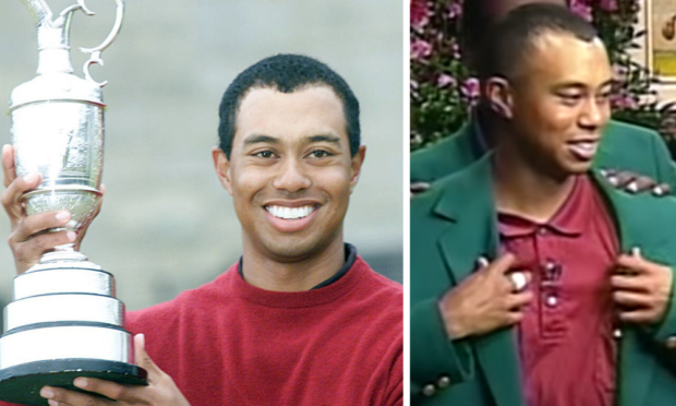 Tiger Woods lifted Claret Jug on his way to Tiger Slam, sealed with 2001 Masters triumph