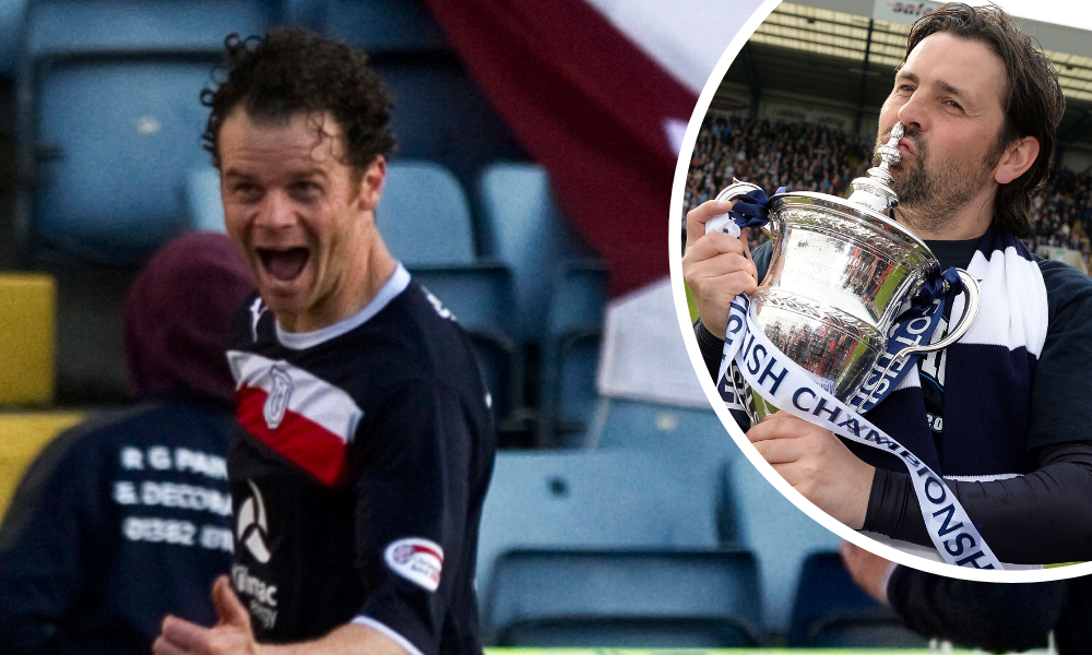 Matt Lockwood enjoyed his time at Dundee but didn't see eye to eye with Paul Hartley