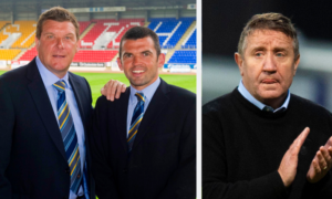 Callum Davidson and John Robertson are frontrunners to replace Tommy Wright as St Johnstone manager