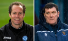 Alec Cleland was Tommy Wright's No2 until Saints legend's exit