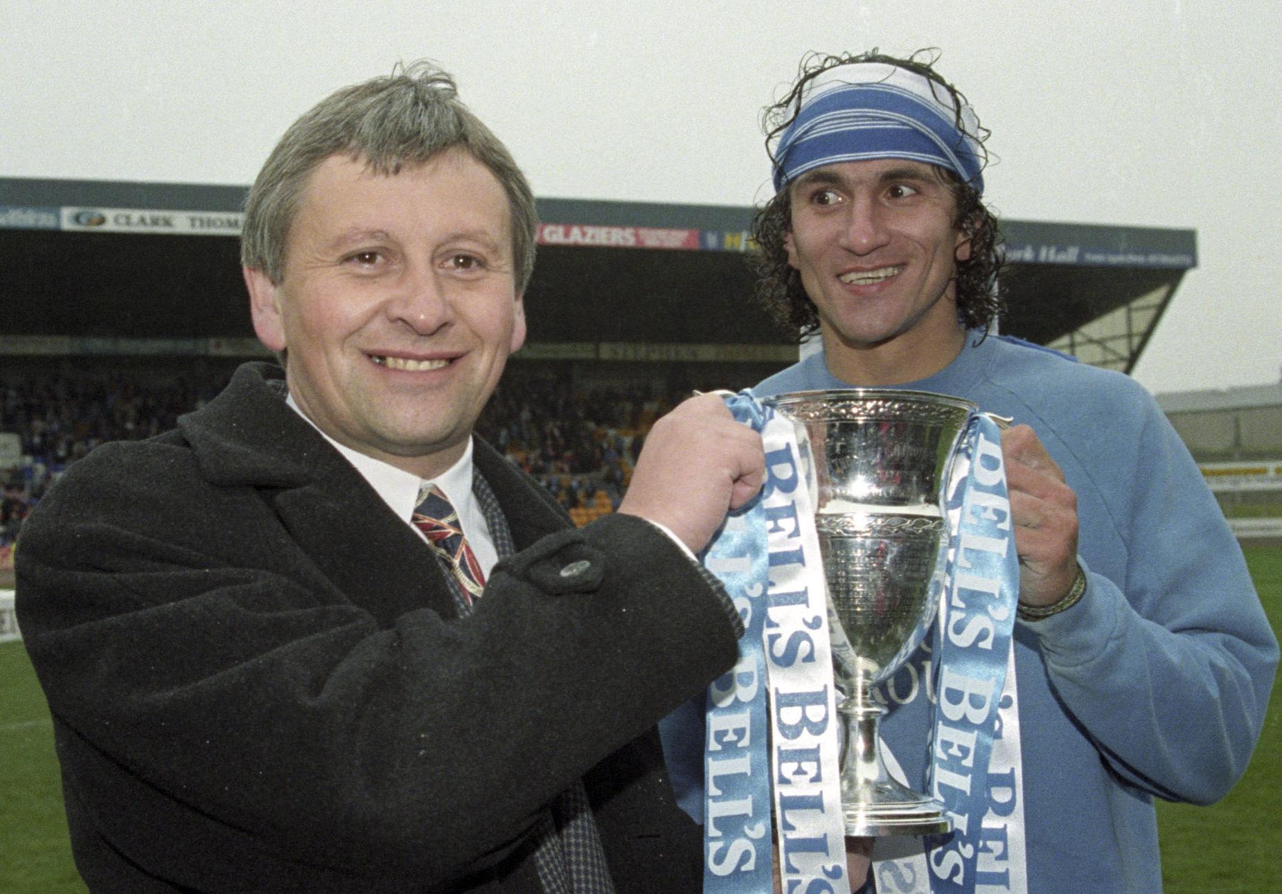 Attila Sekerlioglu was a First Division champion under Paul Sturrock.