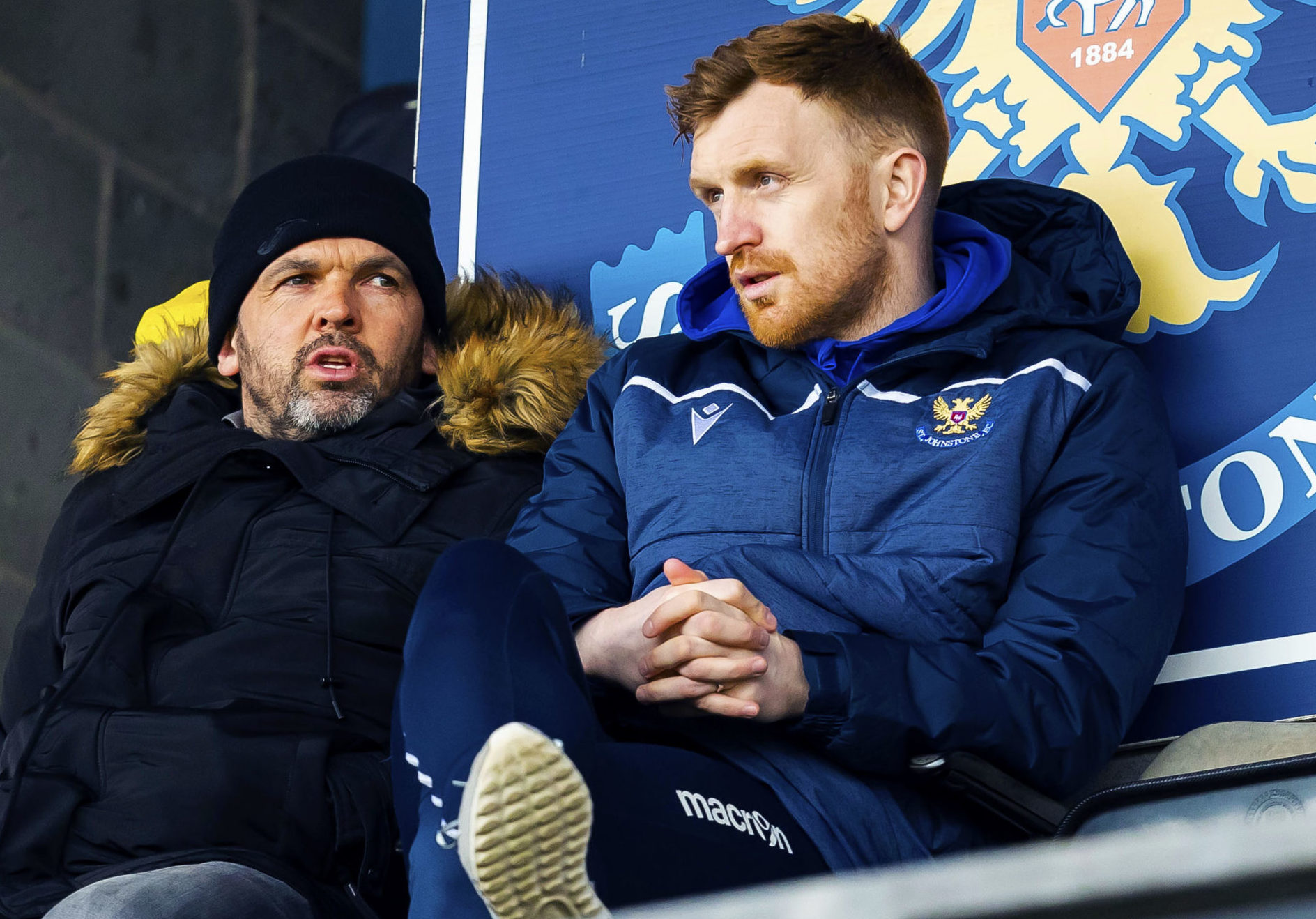 Callum Davidson and Liam Craig watched Saints in action together last season.
