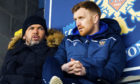 Liam Craig (right) praised St Johnstone boss Callum Davidson for helping to develop his coaching career.