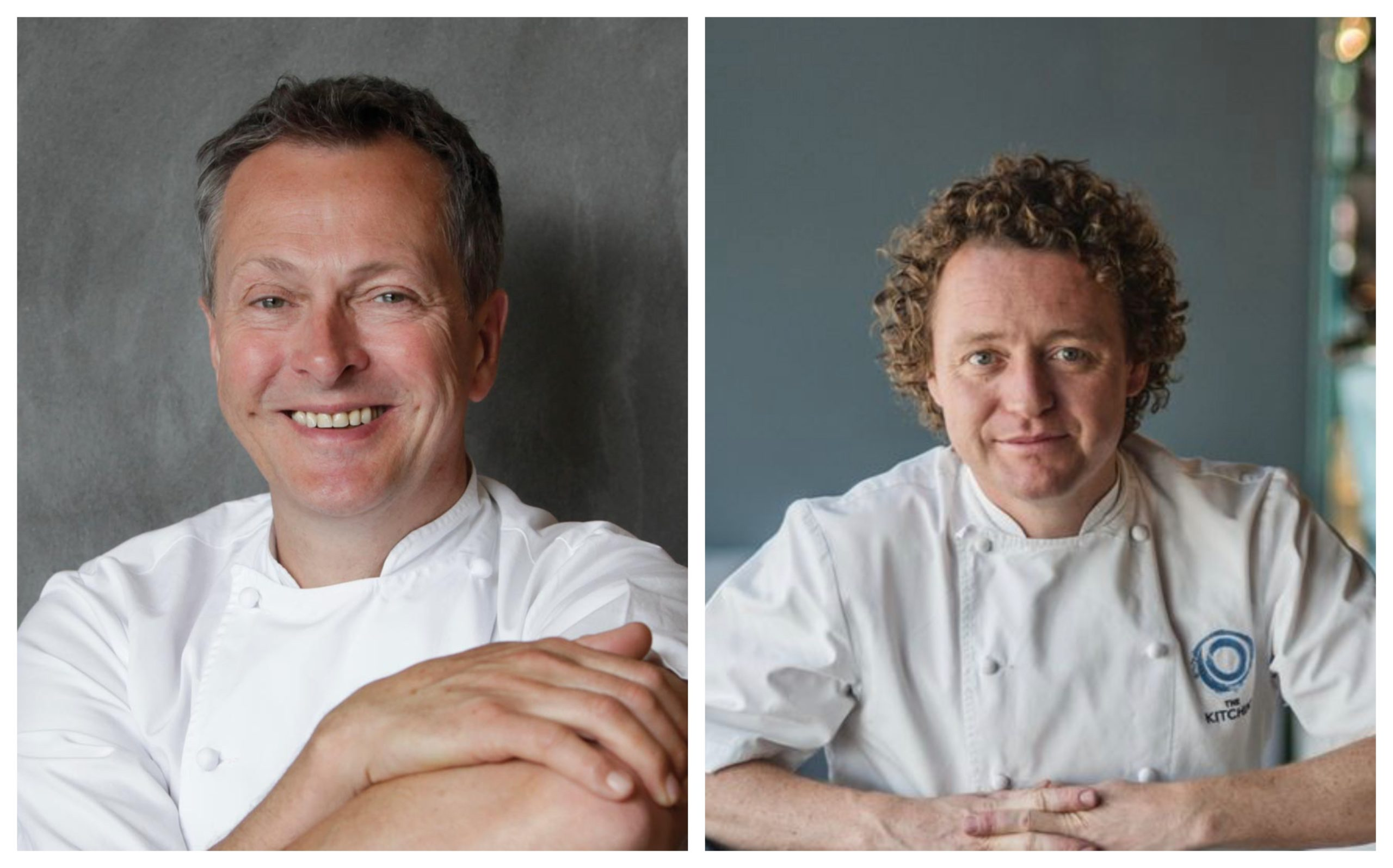 Nick Nairn and Tom Kitchin are two of the 11 Scottish hospitality experts calling on Nicola Sturgeon for support.