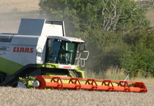 Farmers must apply to Police Scotland ahead of wide vehicle movements on the road.