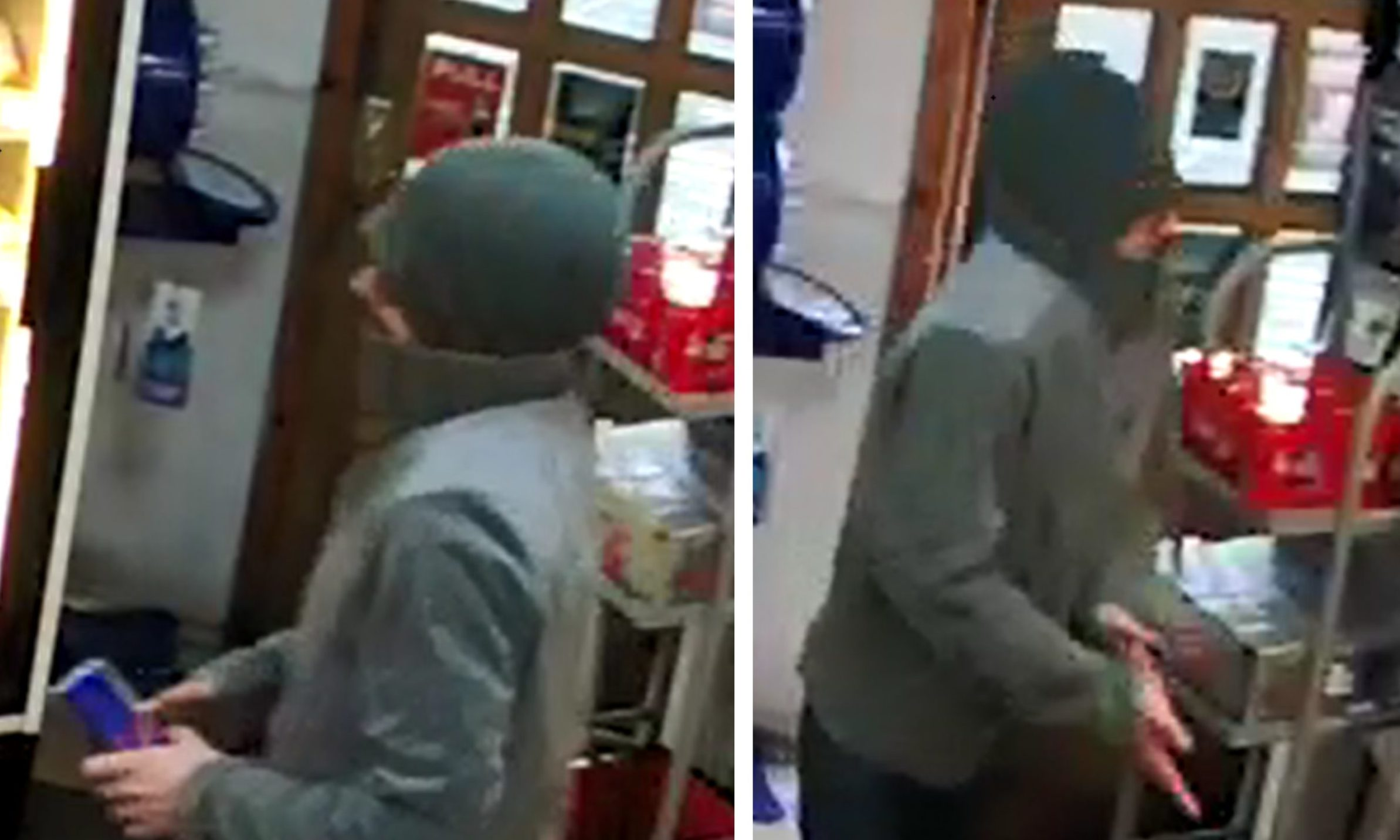This man is being sought by police in Dundee.