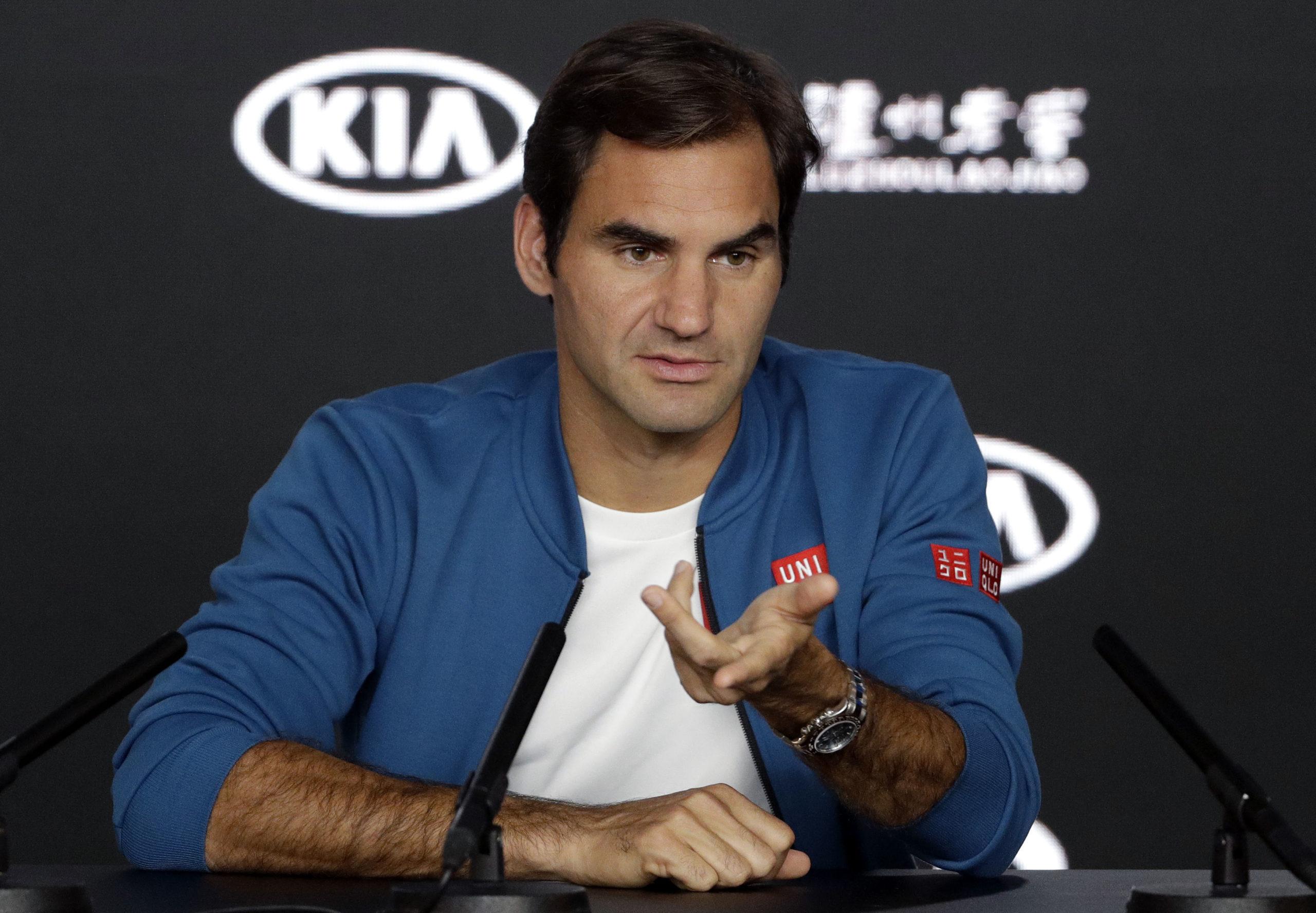 Roger Federer won't be in New York.