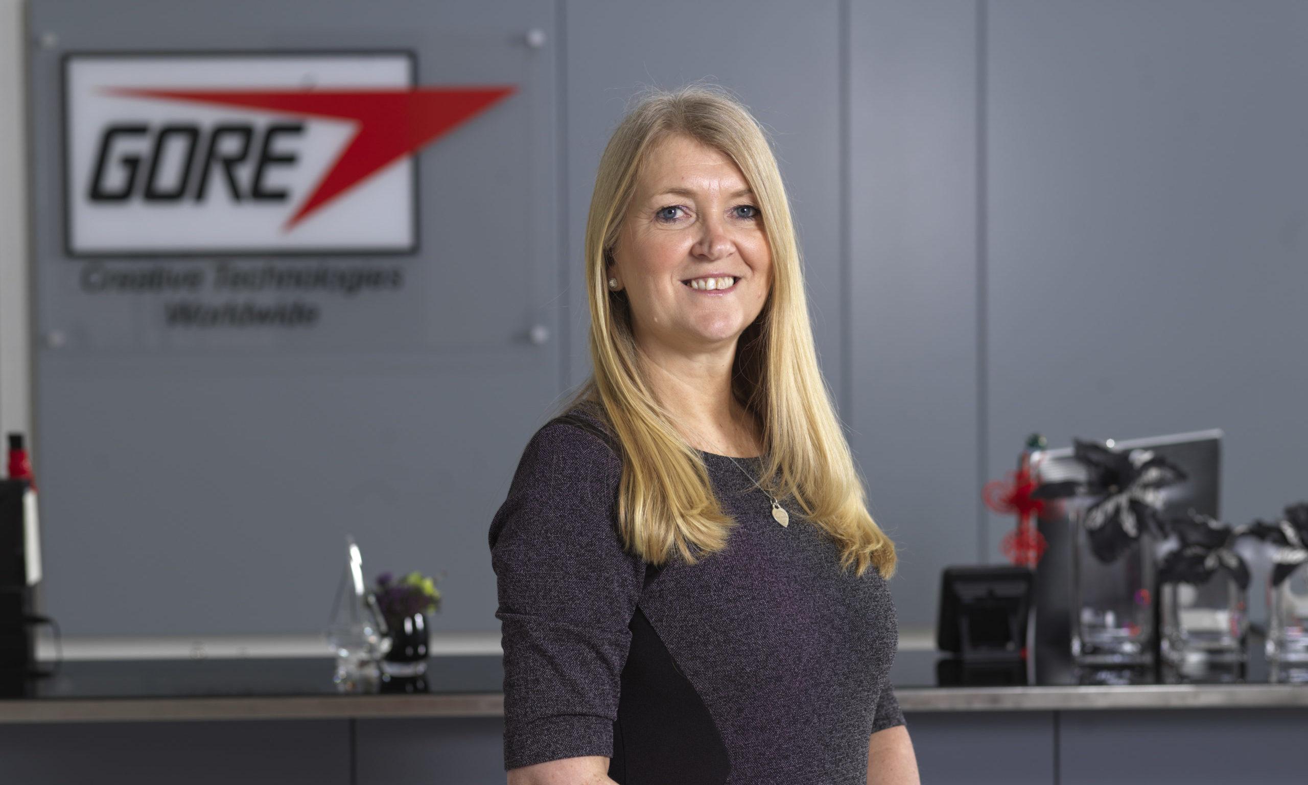 WL Gore plant leader Sheona Barlow