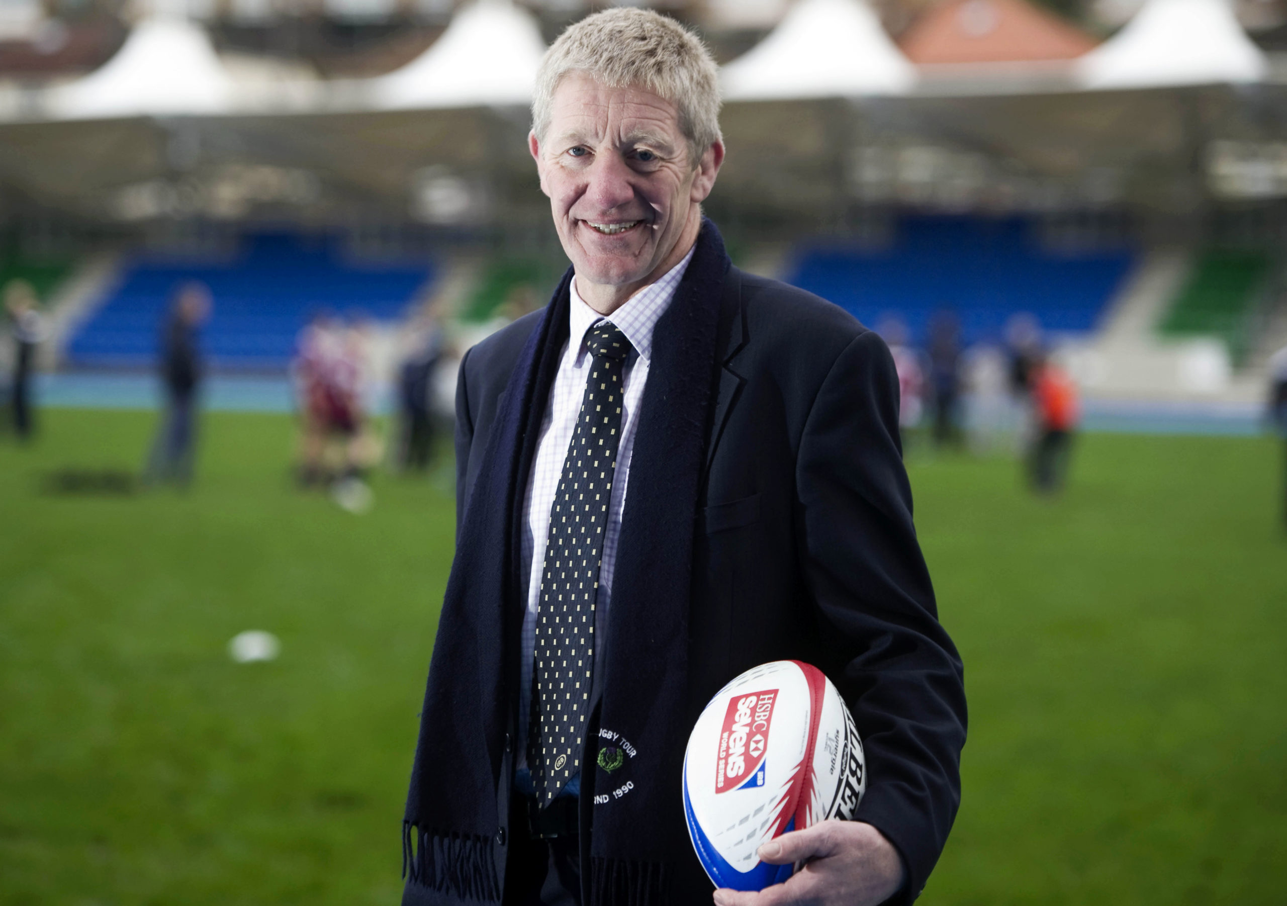 John Jeffrey is the new interim chairman of Scottish Rugby.