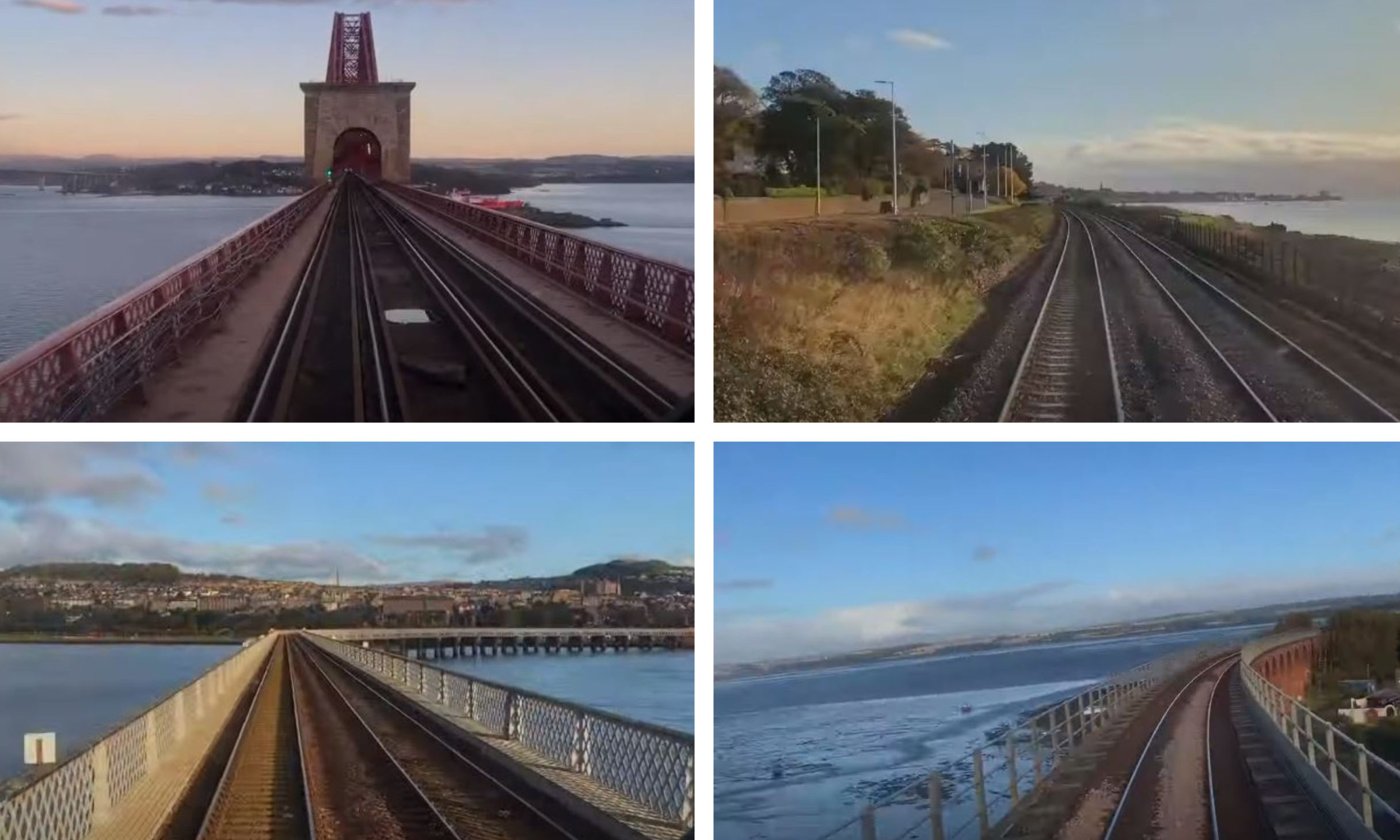 The virtual LNER journey through Tayside and Fife.