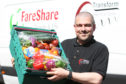 FareShare Tayside and Fife operations manager Chris Doig.