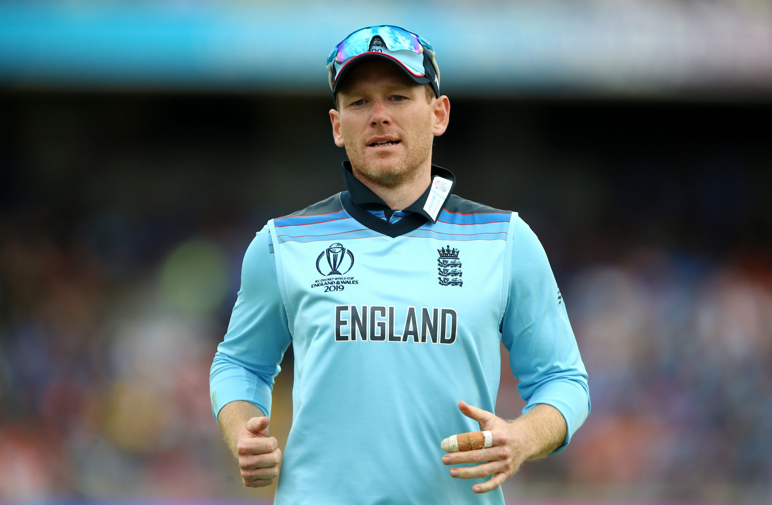England's Eoin Morgan is feeling the benefit of the lockdown break.