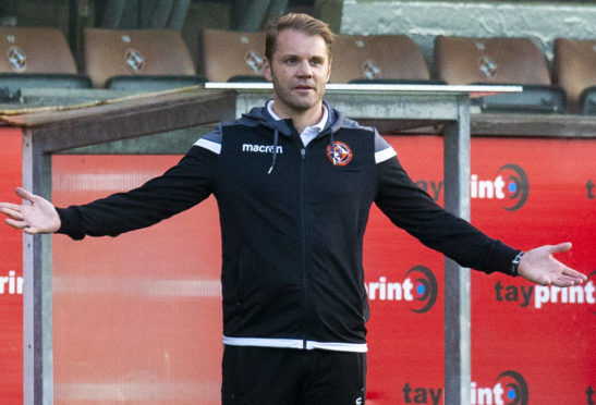 Robbie Neilson has left Tannadice.