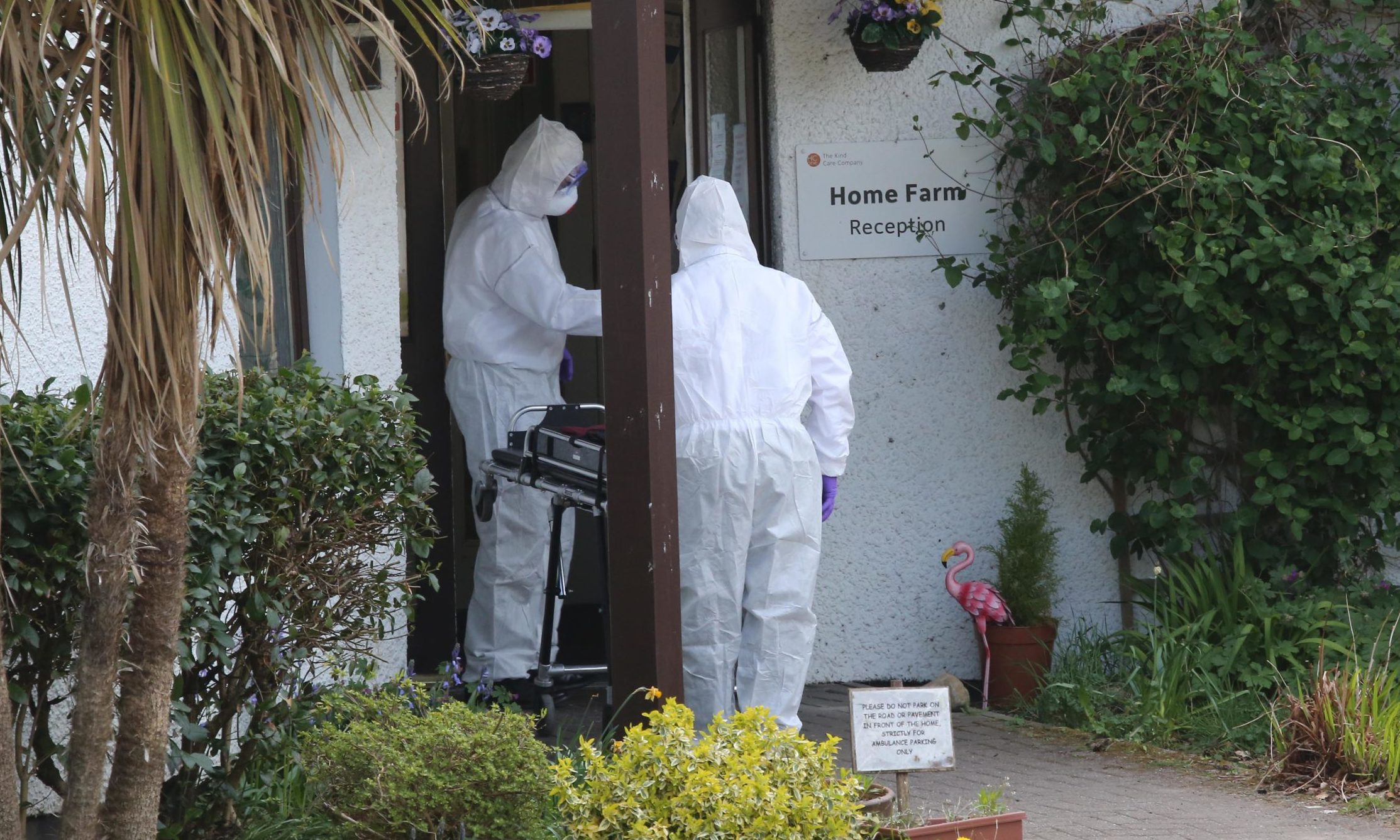 Home Farm care home on the Isle of Skye, where there has been an outbreak of coronavirus.
