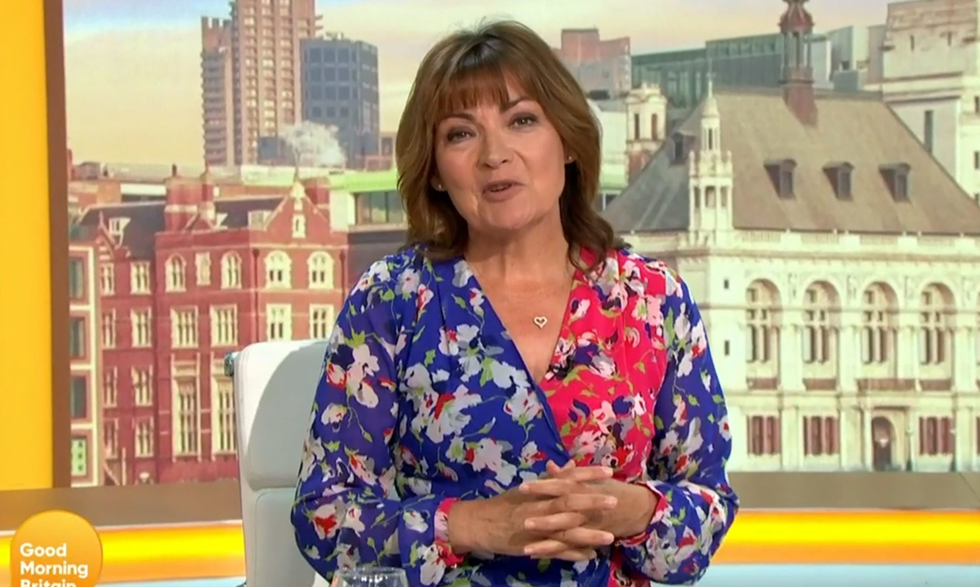Lorraine Kelly on Good Morning Britain.