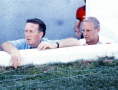 Managerial greats - Jock Stein and Jim McLean.
