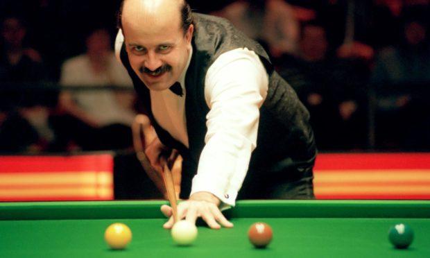 Snooker legend Willie Thorne.