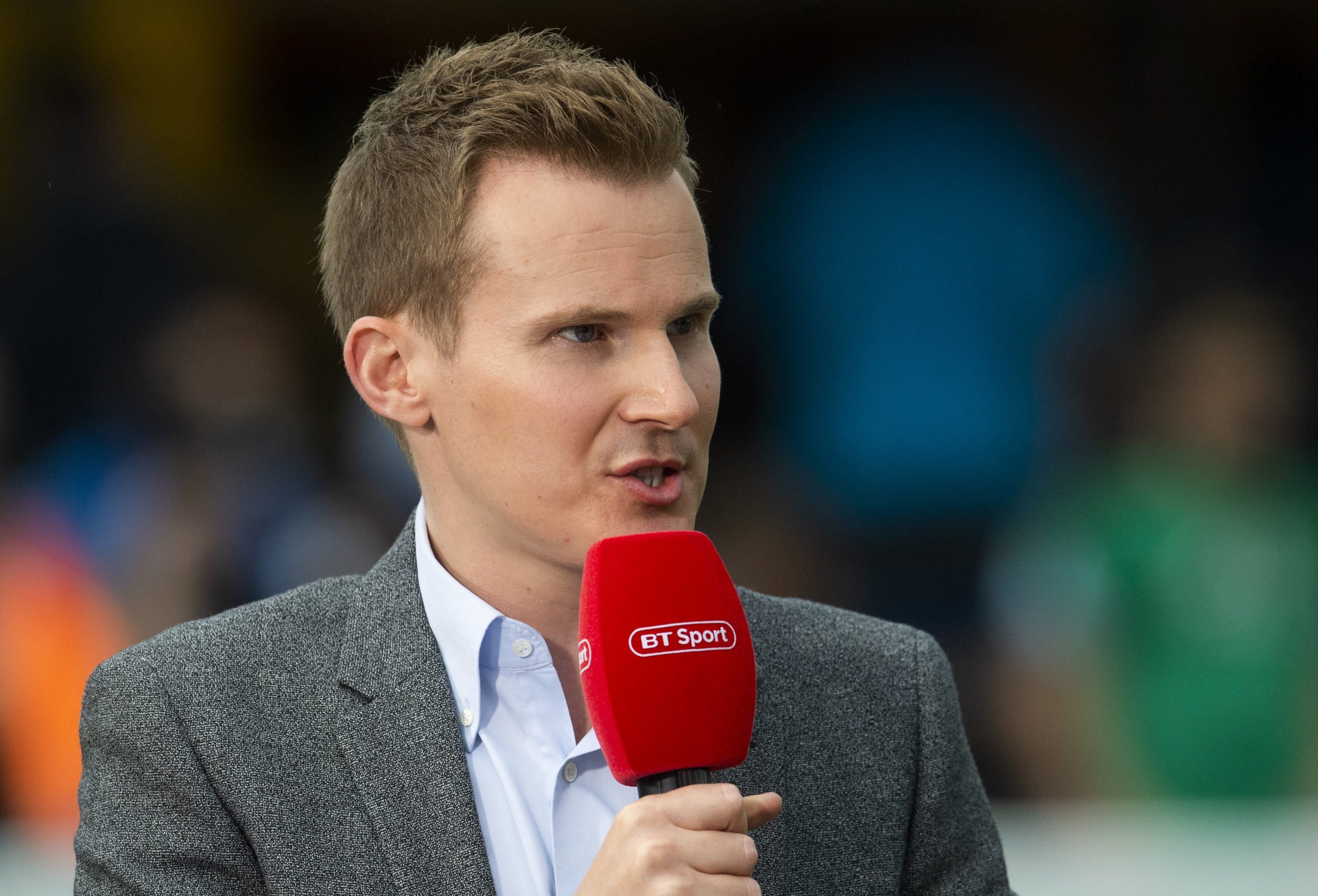 Broadcast star Currie will miss fronting BT Sport's Scottish football coverage
