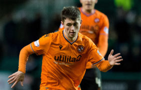 Dundee United midfielder Declan Glass praised by Tangerines boss Micky Mellon as he joins Partick Thistle on loan for the season