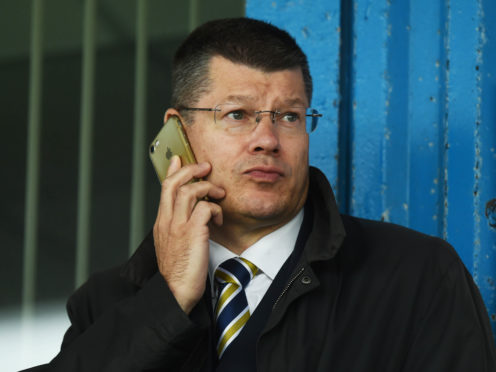 SPFL chief Neil Doncaster.