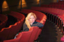 Elizabeth Newman in the auditorium. Pitlochry Festival Theatre. 2nd October 2018