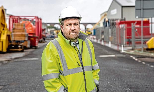Tom Hutchison, chief executive of Montrose Port Authority