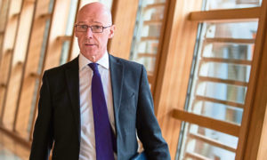 Deputy First Minister and Education Secretary John Swinney.