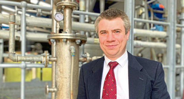 Alistair Watson, founder and managing director of Stakam