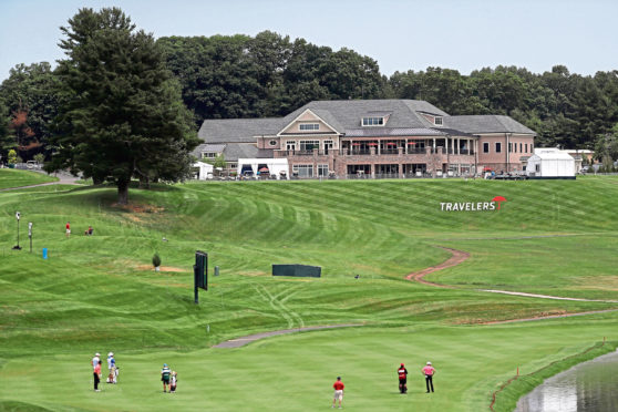 TPC River Highlands was almost deserted for the Travelers Championship but the coronavirus still found a way in.