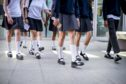 School uniforms may be altered due to the coronavirus crisis.