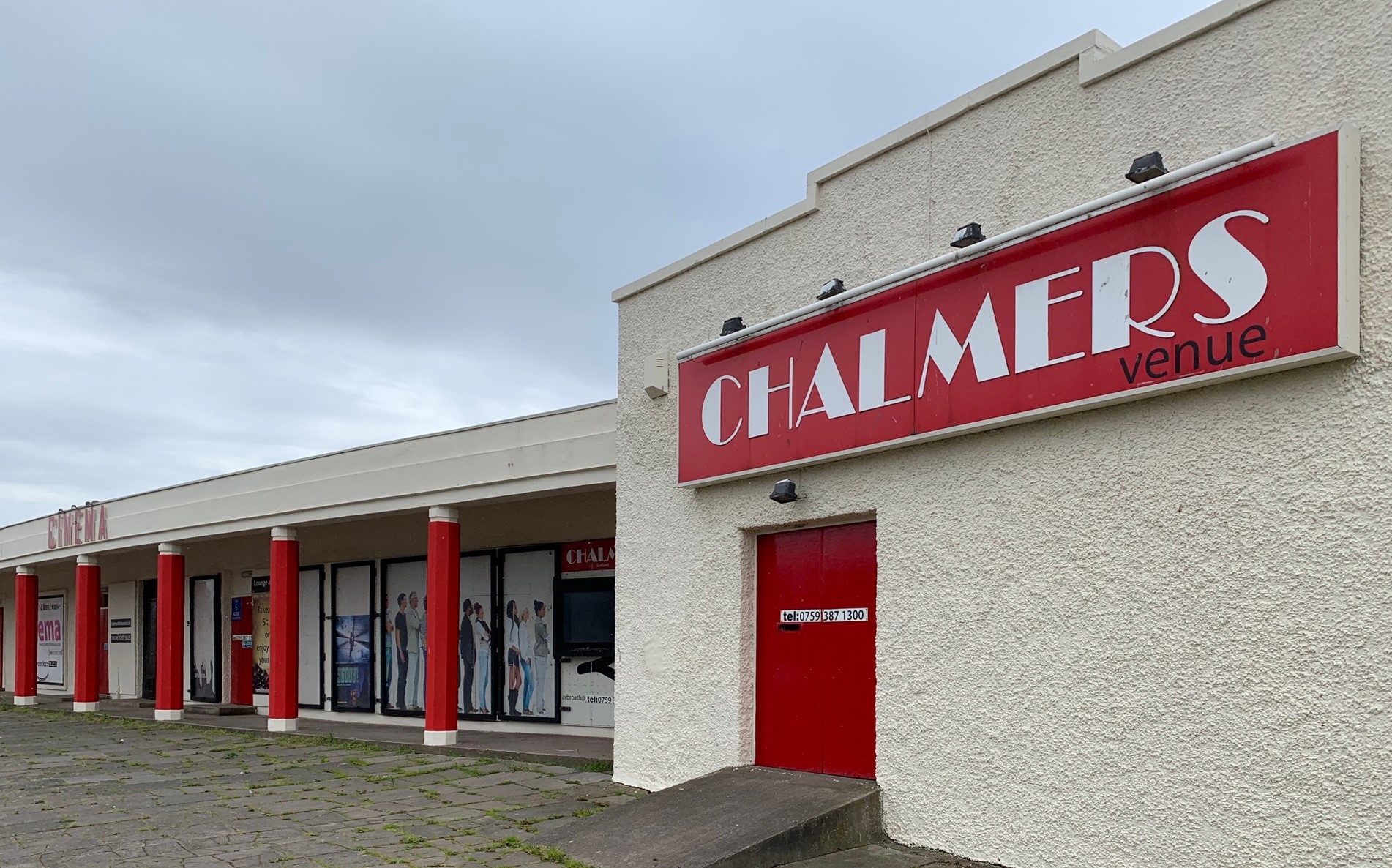Chalmers cinema, Arbroath.