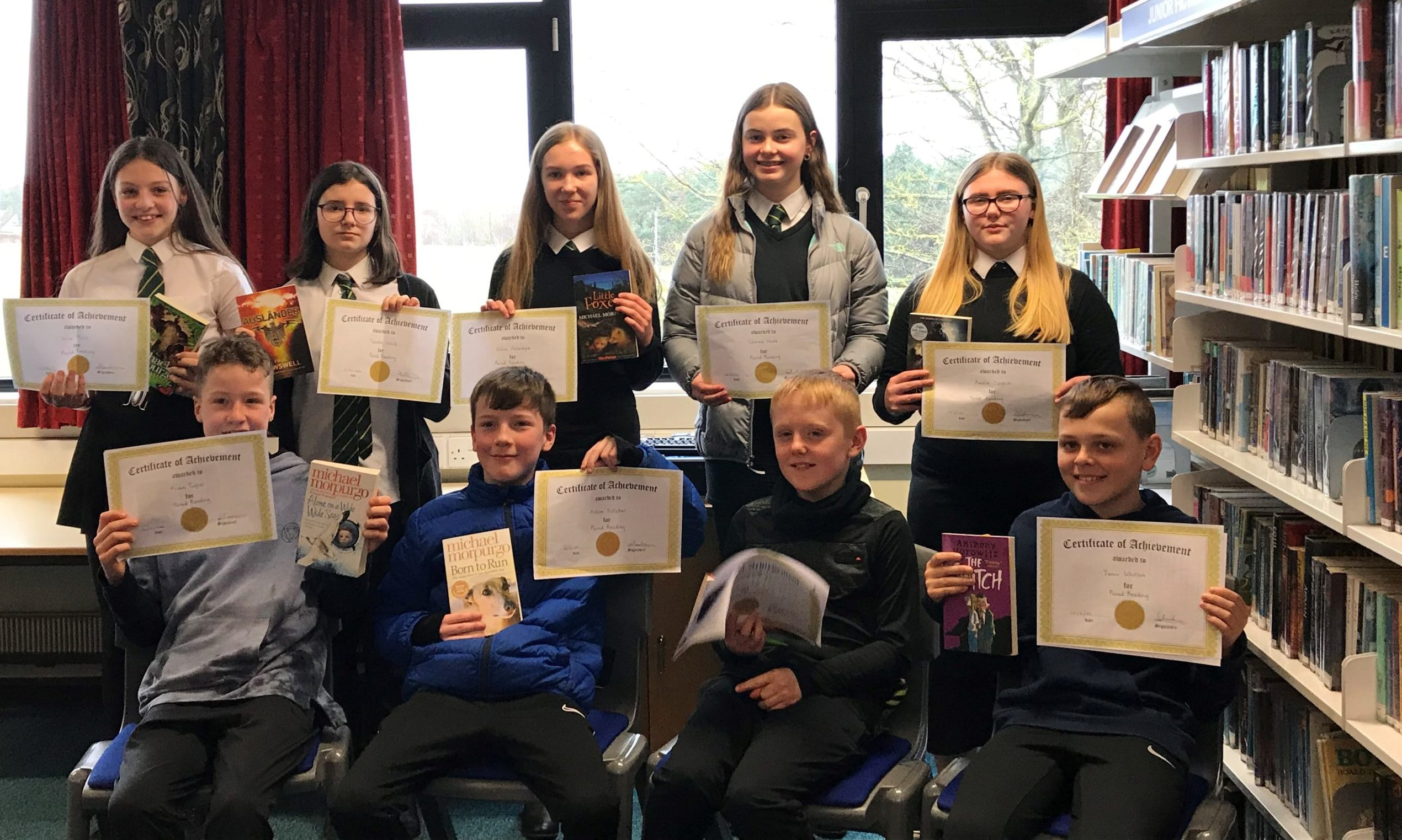 Arbroath High School runs a range of reading-related events and activities for pupils.