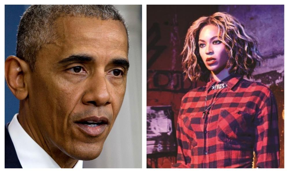 Barack Obama and Beyonce.