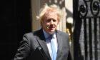 Prime Minister Boris Johnson leaves 10 Downing Street, London, for the House of Commons.