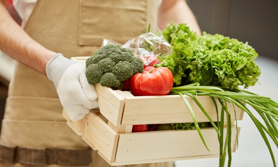 A virtual farmers market is taking place in Falkland on Friday.