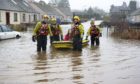 Construction teams could begin building a flood protection scheme in Comrie in 2022.