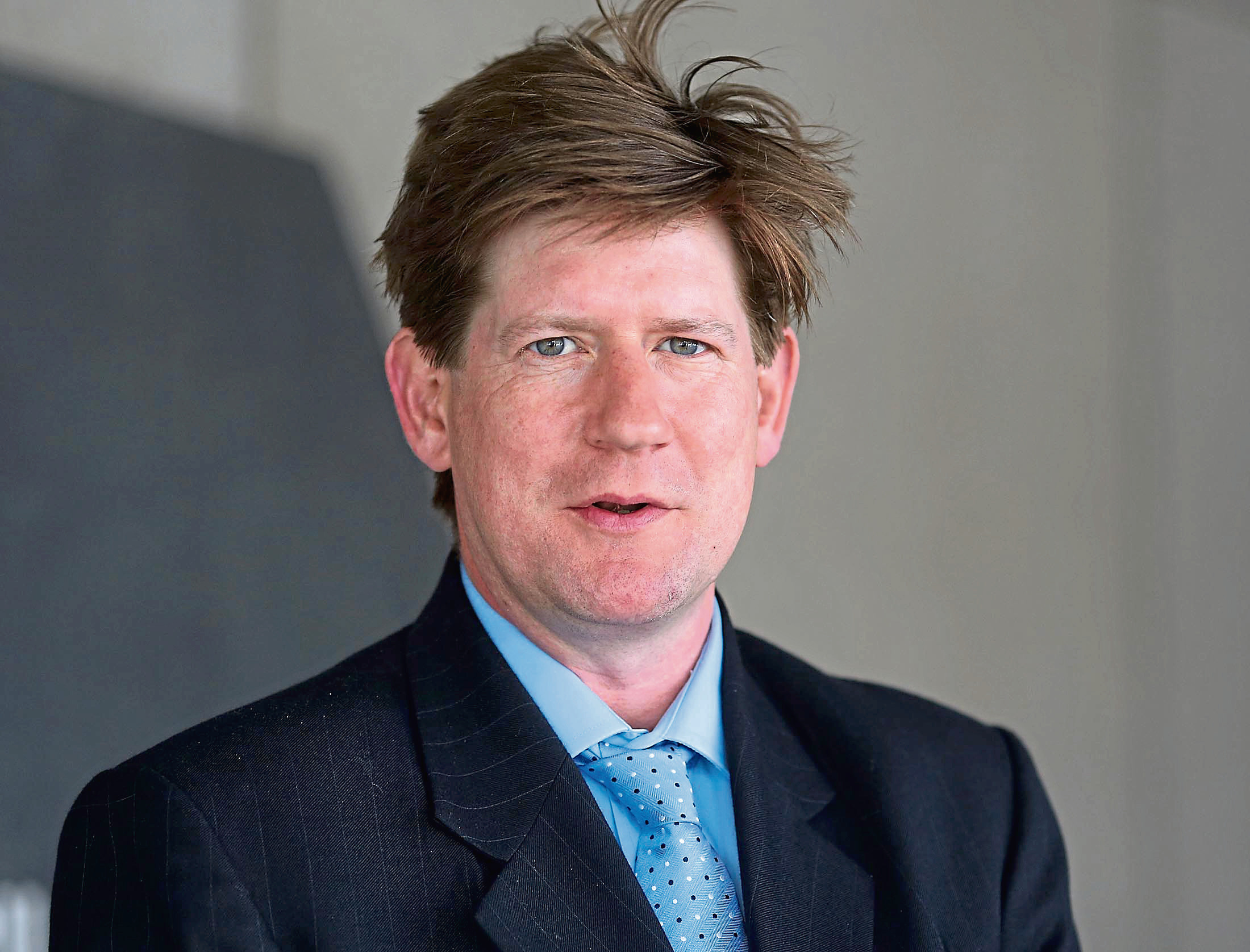 Conservative MSP Alexander Burnett.