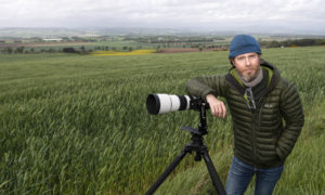 Perth based commercial photographer, Craig Stephen captured while photographing gigapixel panoramas in Perthshire.