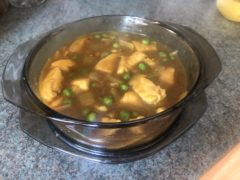 Brian Stormont's Chinese chicken curry.