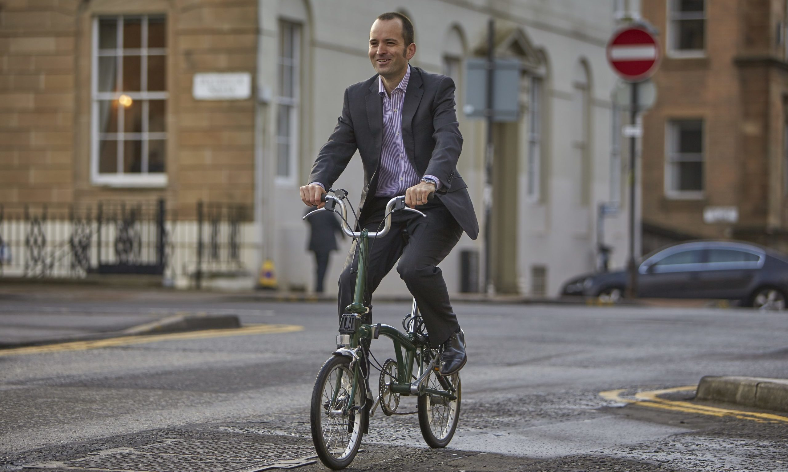 Keith Irving, CEO of Cycling Scotland