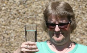 Glenrothes resident Denise Wallace was just one of thousands of residents who suffered from water supply problems.
