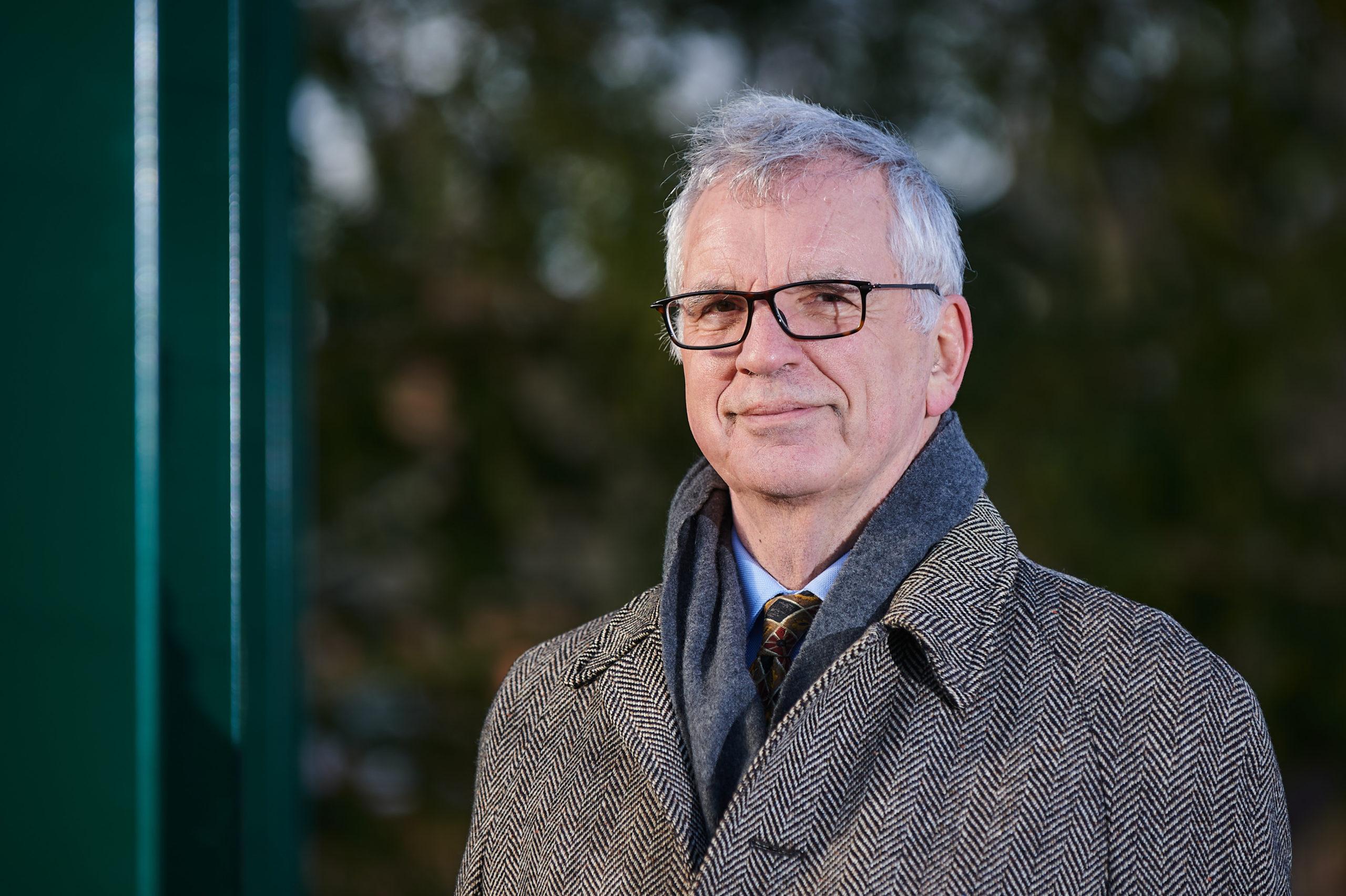 Chairman of The Gannochy Trust, David Gray.