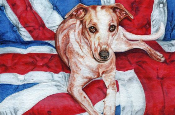 Diamond Dog by Stanley Bird, one of the paintings going under the hammer for CHAS