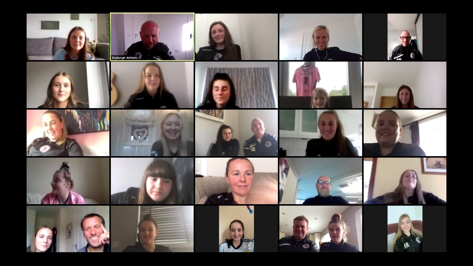 A screengrab of the online Q&A session.
