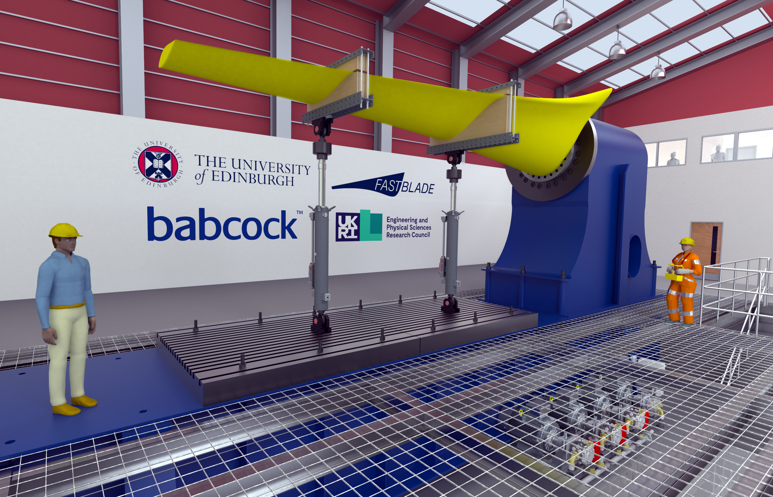 The Fastblade research facility being constructed in ROsyth will be only one of its kind in the world.