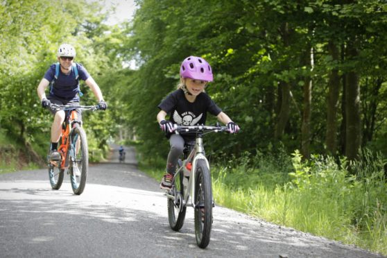 Cycling Scotland says safe, segregated infrastructure is key to keeping families on two wheels.
