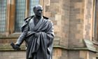 The statue of George Kinloch in Dundee's Albert Square.