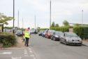 McDonald's in Monifieth reopens to massive queues.