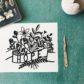 Hope Papercut by artist Louise McLaren.