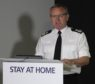 Chief Constable Iain Livingstone at the briefing.